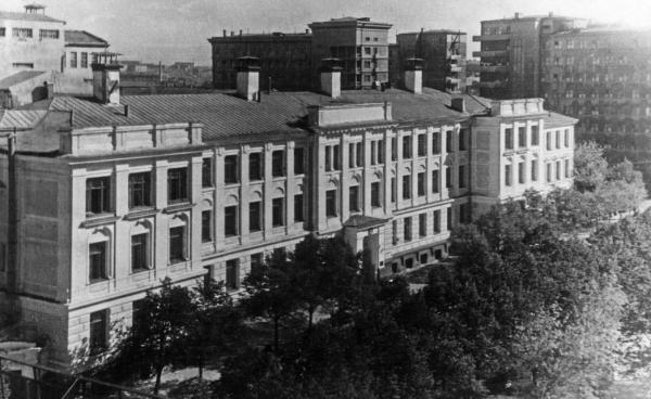 МХТИ. 1945–1948 гг. Фото: PastVu