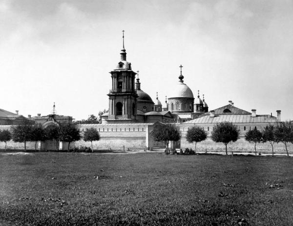 N.A. Naidenov (1883). Pokrovsky Convent crop