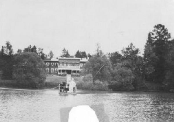Усадебный дом в начале XX в. Фото: блог Нины Симоненко