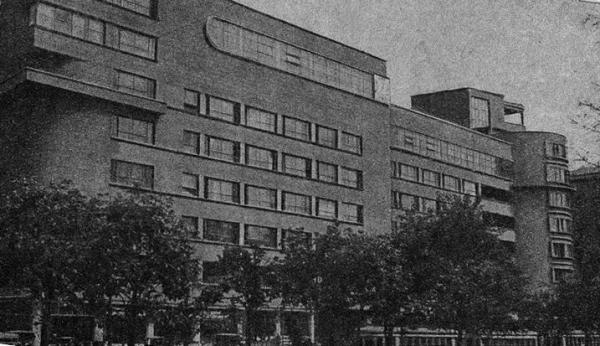 Садовая-Спасская. Дом Наркомзема СССР. 1935 г. Фото: Шагин И., PastVu