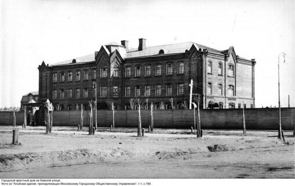 Здание городского Арестного дома в 1910 г. Фото: PastVu