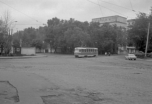 На этой улице в 1930-е находился завод «Теплоэлектрик». Фото: PastVu