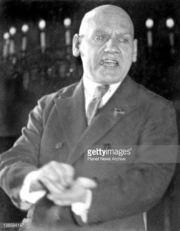 Николай Крыленко, нарком юстиции РСФСР, Москва, 1933. Источник: gettyimages.com