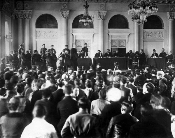 Политический процесс по «делу Савинкова», 1924 г. Фото: humus.livejournal.com