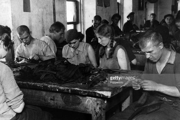 Заключенные Таганской тюрьмы, 1920-е гг.