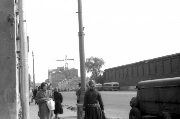 Угол Лесной улицы, 1958–1961 гг.