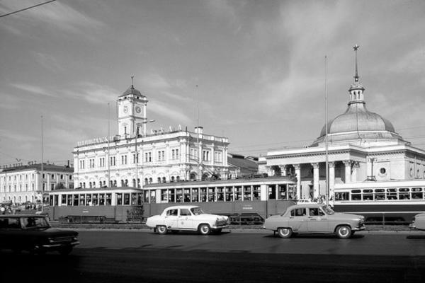 Ленинградский вокзал. 1964–1965 гг. Фото: PastVu