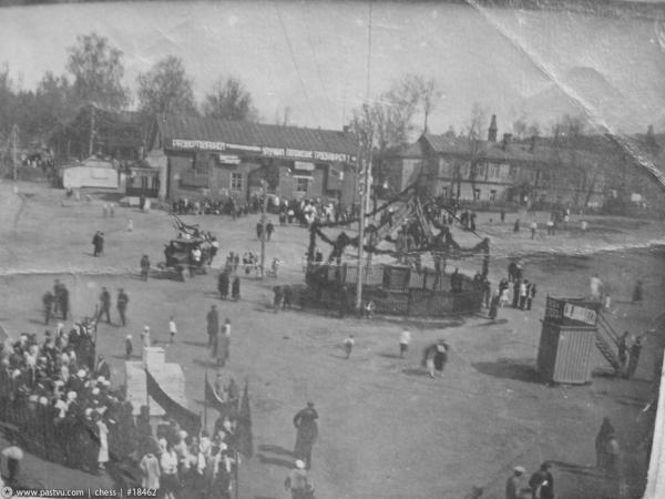 Праздник в селе Владыкино, начало 1930-х гг.