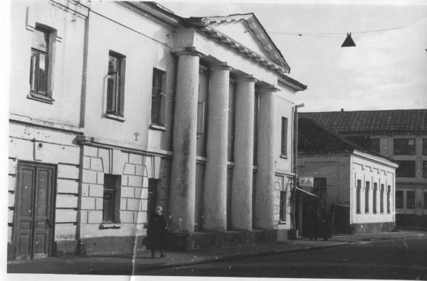 Отделение милиции. 1971 г. Датировано, фото:  PastVu