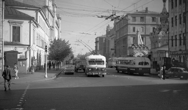 Улица Чехова. 1957 г.