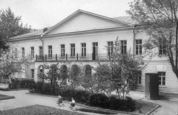 Усадьба в 1971–1972 годах