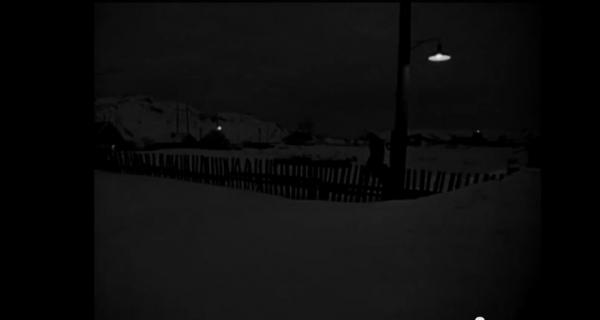 Кадр из фильма «Вокзал для двоих», который, по неподтвержденным данным, снимался в деревне Глухариха. Реж. Э. Рязанов