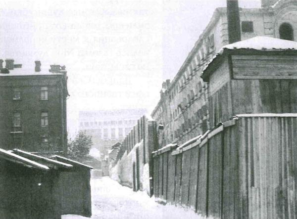 Таганская тюрьма (фотография конца 1950-х гг.). Фото: архив общества «Мемориал»