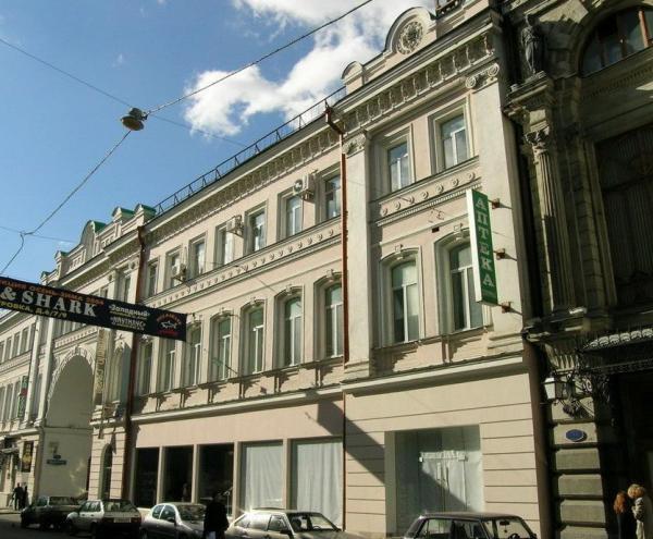 Здание бывшей Военной коллегии Верховного суда СССР («Расстрельный дом»), 2004 г. Фото: Виртуальный музей ГУЛАГа