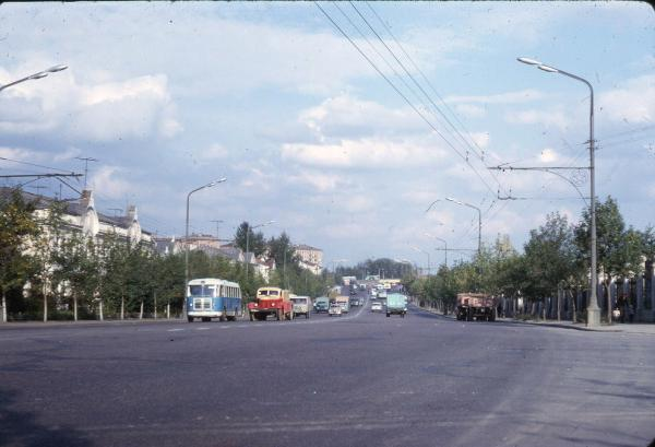 Хорошевское шоссе в конце 1960-х годов