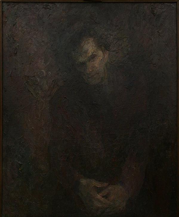 Единственный прижизненный портрет В. Т.Шаламова работы Бориса Биргера