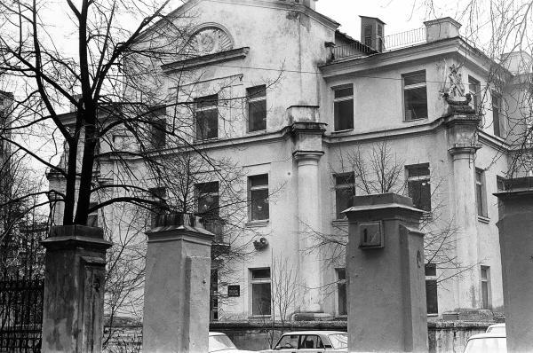 Здание бывшего костела. 1986 г. Фото: pastvu.com