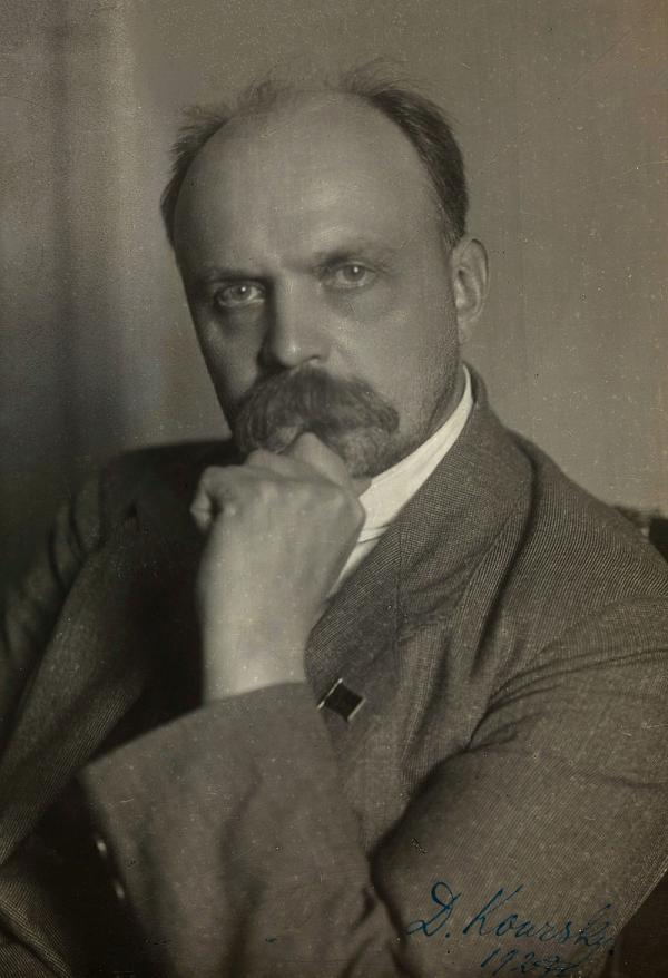Нарком юстиции Д.И. Курский. Фото: National Library of Norway