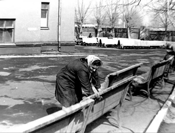 Московский пересыльный пункт на Пресне. 1970–1975. Фото: И. М. Филатов, PastVu