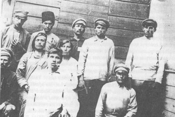 Участники тамбовского восстания