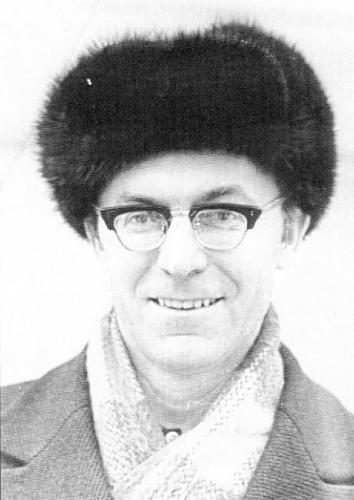 Леонид Крысин. Фото: Солженицын А. И. Бодался телёнок с дубом. М.: Согласие, 1996