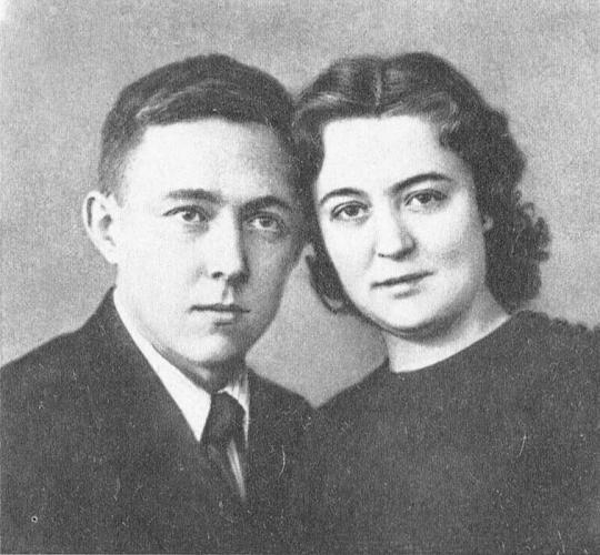 Фотография молодоженов Солженицына и Решетовской. Ростов-на-Дону, 27 апреля 1940 г. Фото: reshetovskaya.ru