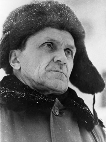 Варлам Шаламов в 1960-е гг.