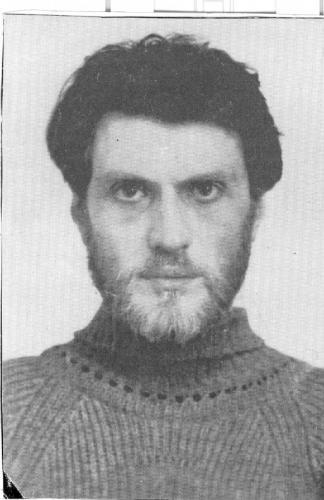 Валерий Сендеров. 1984 год. Фото: архив Общества «Мемориал»