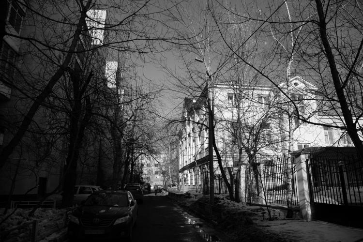 Двор дома ЗА. Современный вид. Фото: Михаил Кончиц, архив Общества «Мемориал»