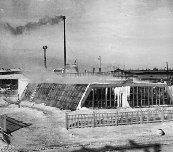 Завод в Капотне. 1948 г. Фото: mnpz.gazprom-neft.ru