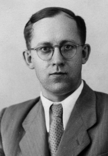 Владимир Лебедев, партийный деятель и помощник Хрущева по вопросам культуры. 1950-е г. Фото: wikipedia