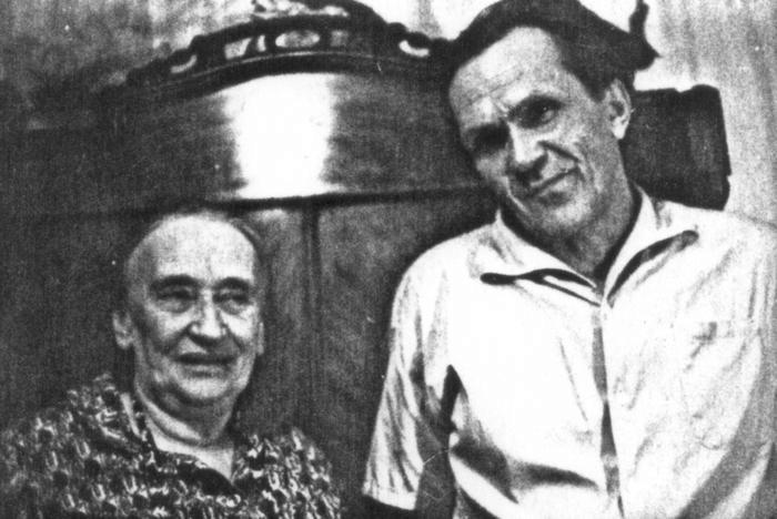 Шаламов и Н. Я. Мандельштам