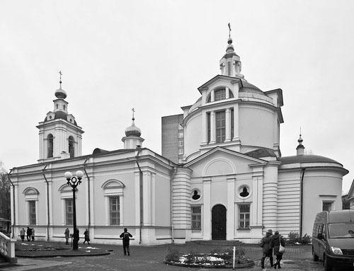Современный вид церкви Николы в Кузнецах