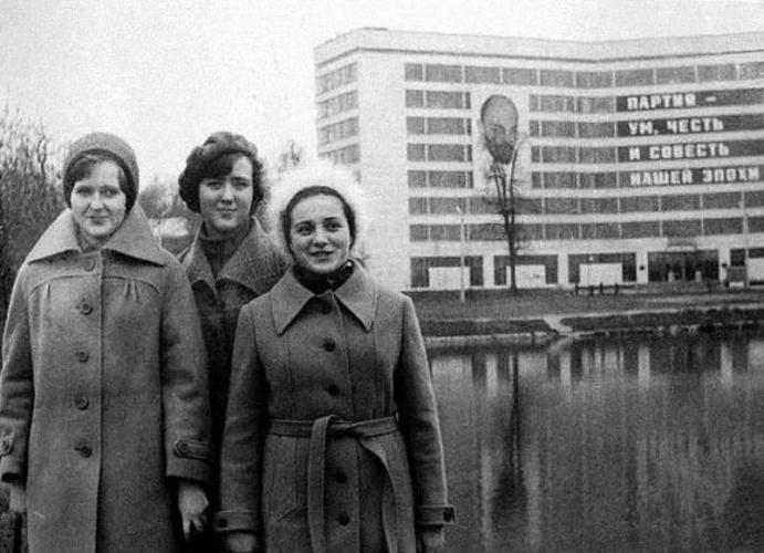 Полиграфический институт. 1980-е гг. Фото: PastVu