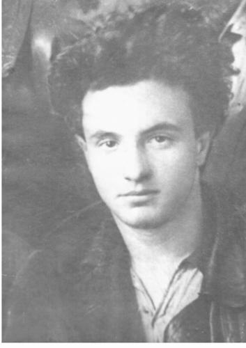Яков Гродзенский. 1922 г. Фото: личный архив С. Я. Гродзенского