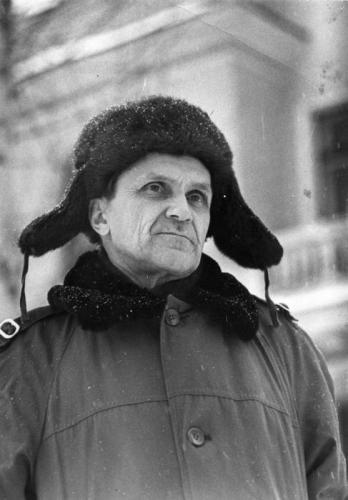Варлам Шаламов в 1960-е годы. Фото Бориса Лесняка