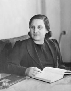 Ревекка Сауловна Левина. Фото: Wikipedia