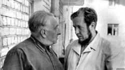 Тимофеев-Ресовский и Солженицын в Обнинске. 1967 г. Фото: svoboda.org